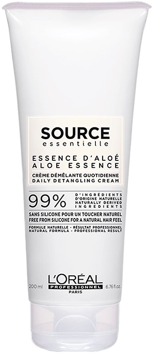 Source Essentielle Aloe Essence Daily Detangling Cream (99% Natural/Vegano)