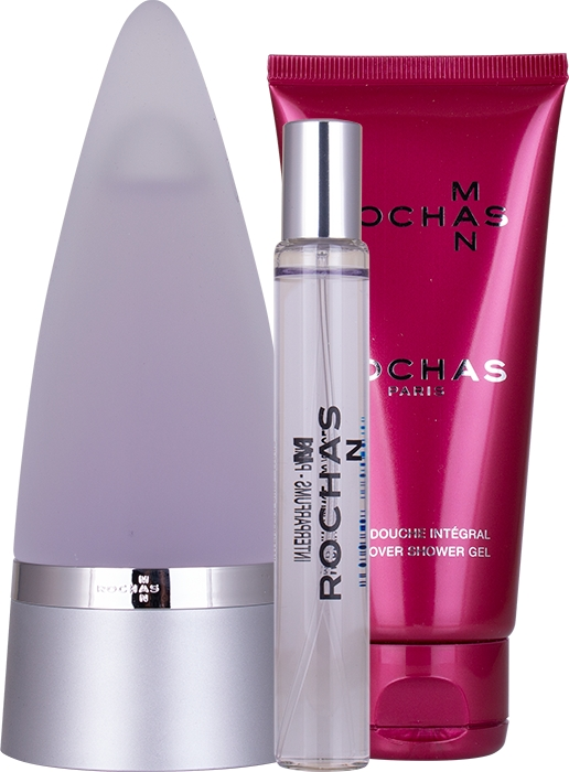 Set Rochas Man 100ml + 20ml + Gel 100ml