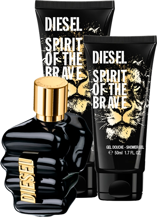 Set Spirit Of The Brave 125ml + Gel 100ml + Gel 50ml