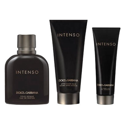 Set D G pour Homme Intenso 125ml + After Shave 100ml + Shower Gel 50ml b606c50545b4