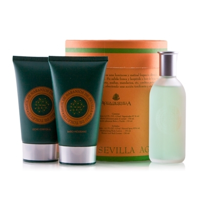 Set Agua de Naranjos 125ml + Body Lotion 150ml + Shower Gel 150ml