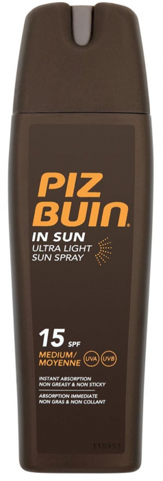 In Sun Ultra Light Sun Spray SPF15