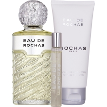 Set Eau de Rochas 100ml + Body Lotion 100ml + 20ml