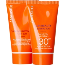 Set Sun Beauty Velvet Milk SPF30 50ml + Tan Maximizer After Sun 50ml