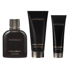Set D&G pour Homme Intenso 125ml + After Shave 100ml + Shower Gel 50ml