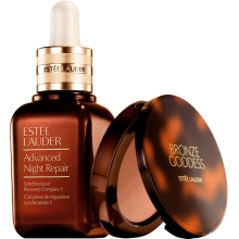 Set Advanced Night Repair Synchronized Recovery Complex II 30ml + Bronze Goddess