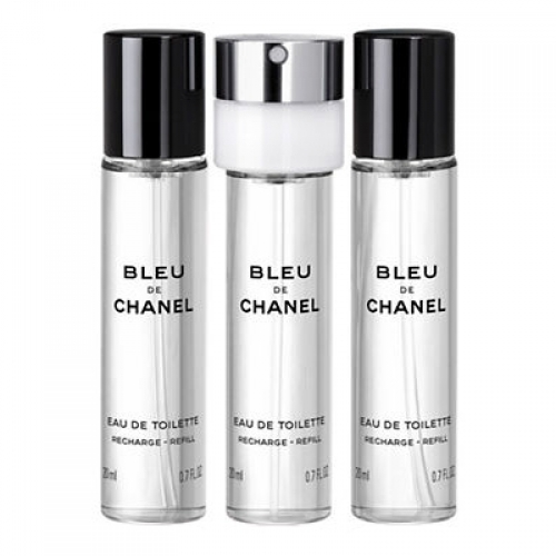 Set Bleu de Chanel 3x20ml - Recarga