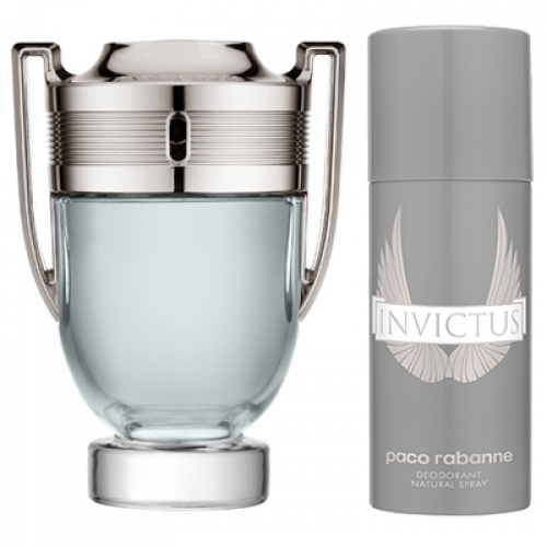 Set Invictus 100ml + Desodorante Spray 150ml