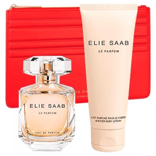 Set Elie Saab Le Parfum 50ml + Body Lotion 75ml + Neceser