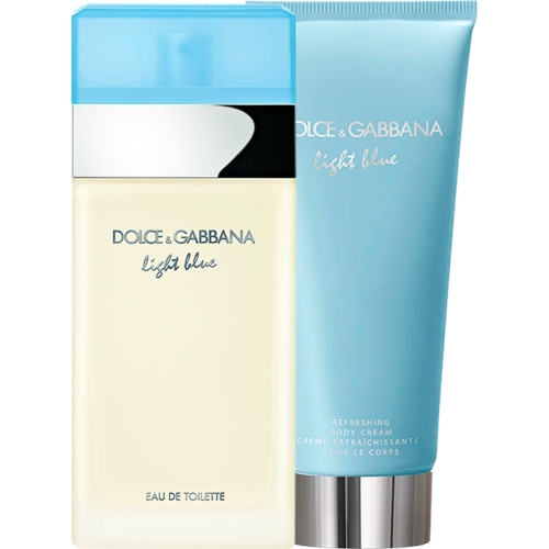 Set Light Blue 100ml + Refreshing Body Cream 100ml