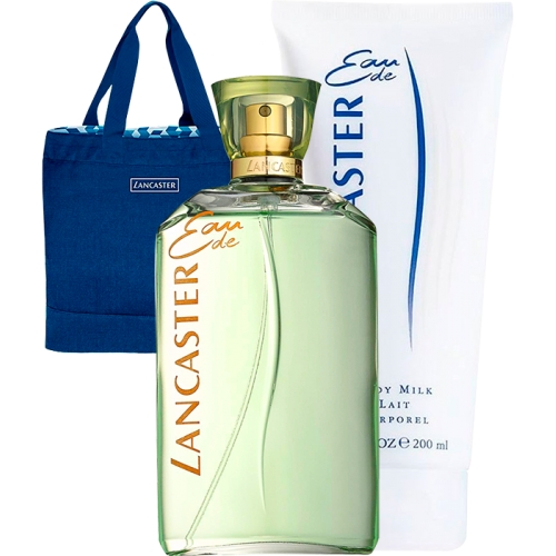 Set Eau de Lancaster 125ml + Body Lotion 200ml + Bolso