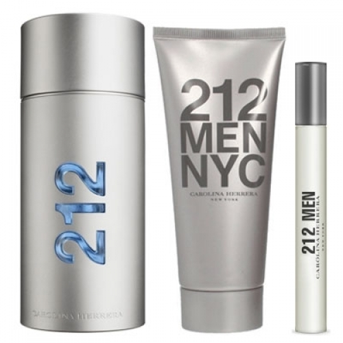 Set 212 Men 100ml + After Shave Gel 100ml + 10ml