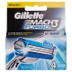 Gillette Mach3 Turbo - 4 Recargas