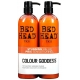 Set Bed Head Combat Colour Goddess Champu 750ml + Acondicionador 750ml